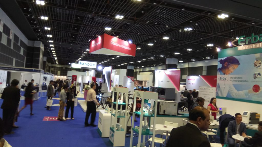 Up close and personal with Medical Technology in Asia Health 2017