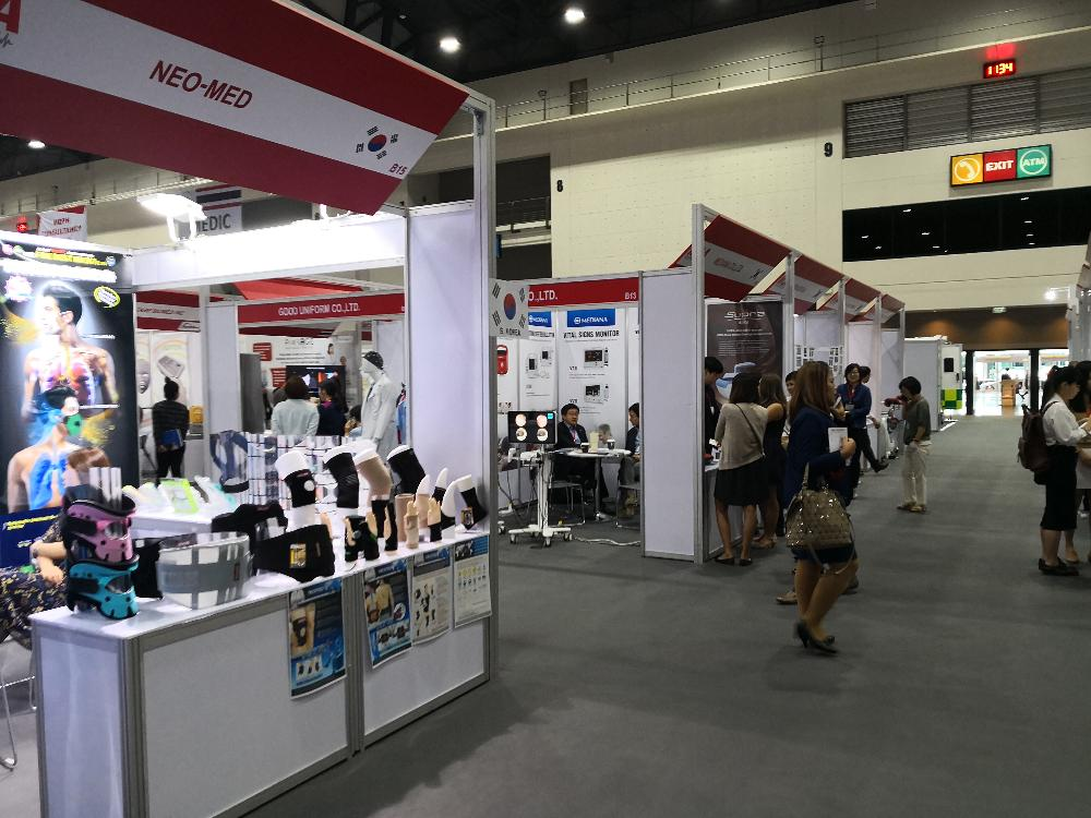 The First Medical Device ASEAN exhibition – Bangkok, Thailand